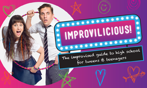 Always Working Artists and the BIG HOO-HAA presents Improvilicious: The Improvised Guide to High School by Jimmy James Eaton for the 2015 Melbourne International Comedy Festival
