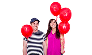 Ben Russell and Cassie Vagliviello in #improvilicious: the Improvised Guide To The Internet