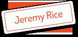 Jeremy Rice